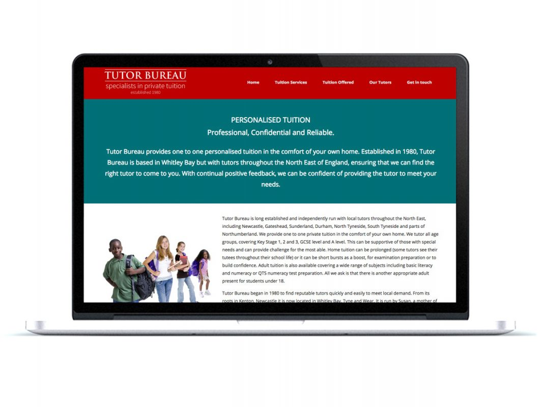 Tutor Bureau Website