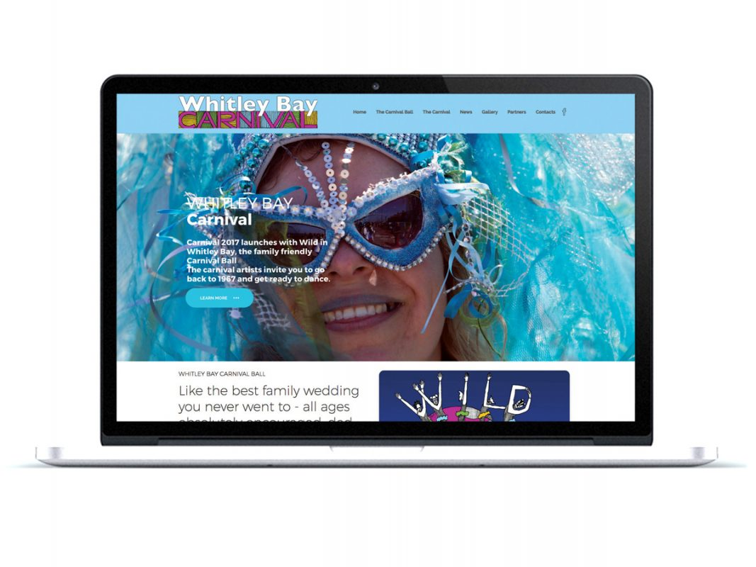 Whitley Bay Carnival Website