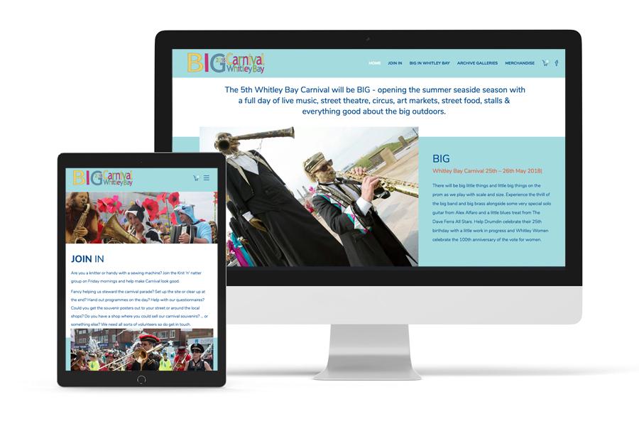 Whitley Bay Carnival Website 2018