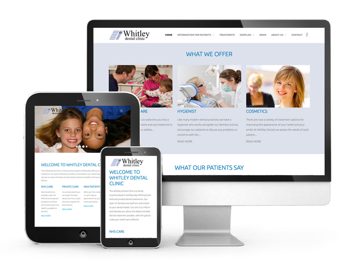 Whitley Dental Clinic Website