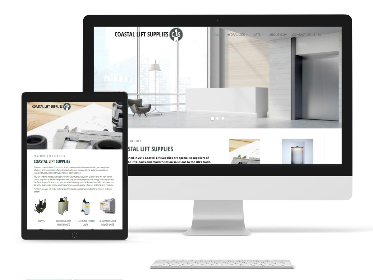 Coastal Lift Supplies Webscreen