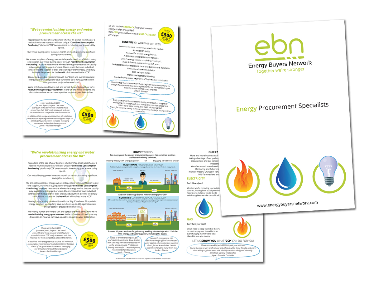 Energy Business Network brochure