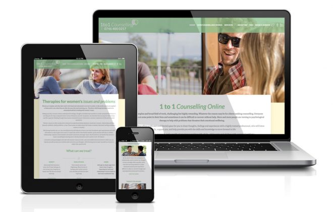 Small Business Website 1to1-counselling