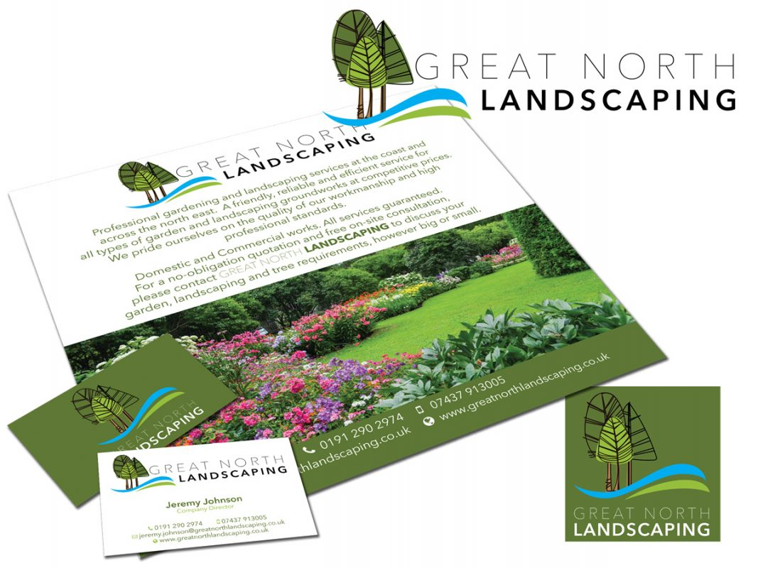 great-north-landscaping-logo-leaflet-card