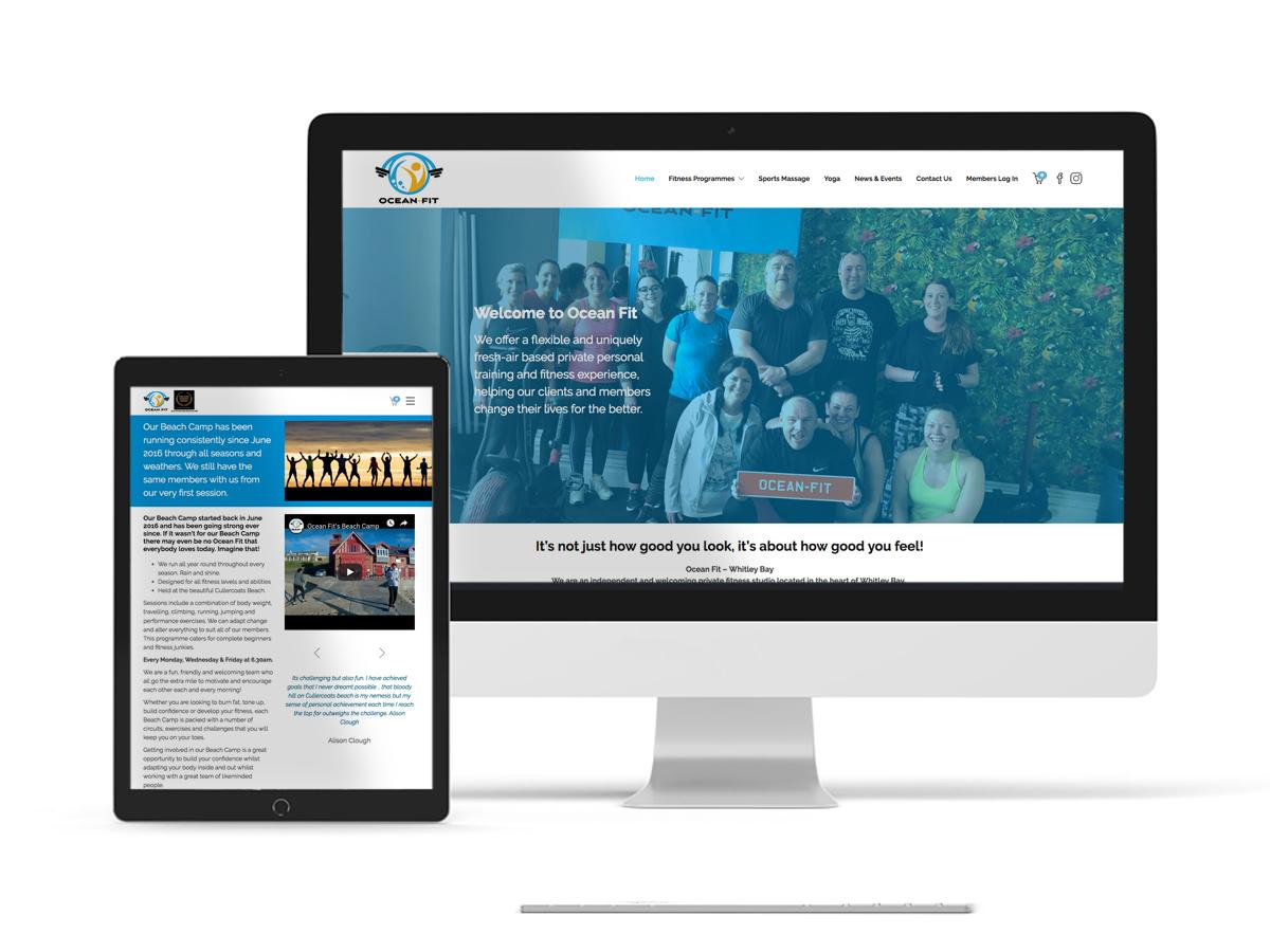 Ocean Fit Wordpress Website