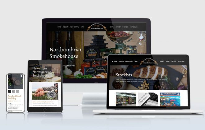 Northumbrian Smokehouse wordpress e-commerce website