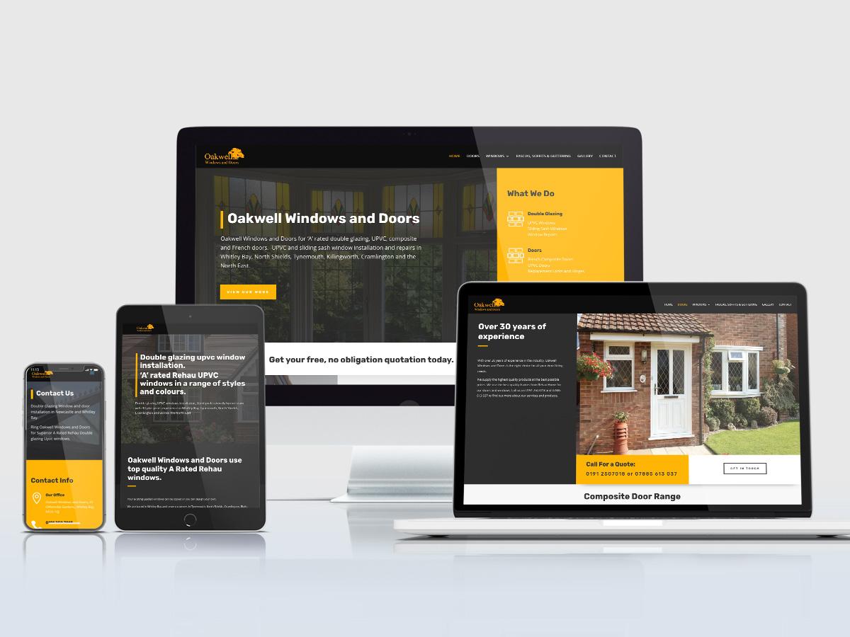 Oakwell Windows and Doors Website