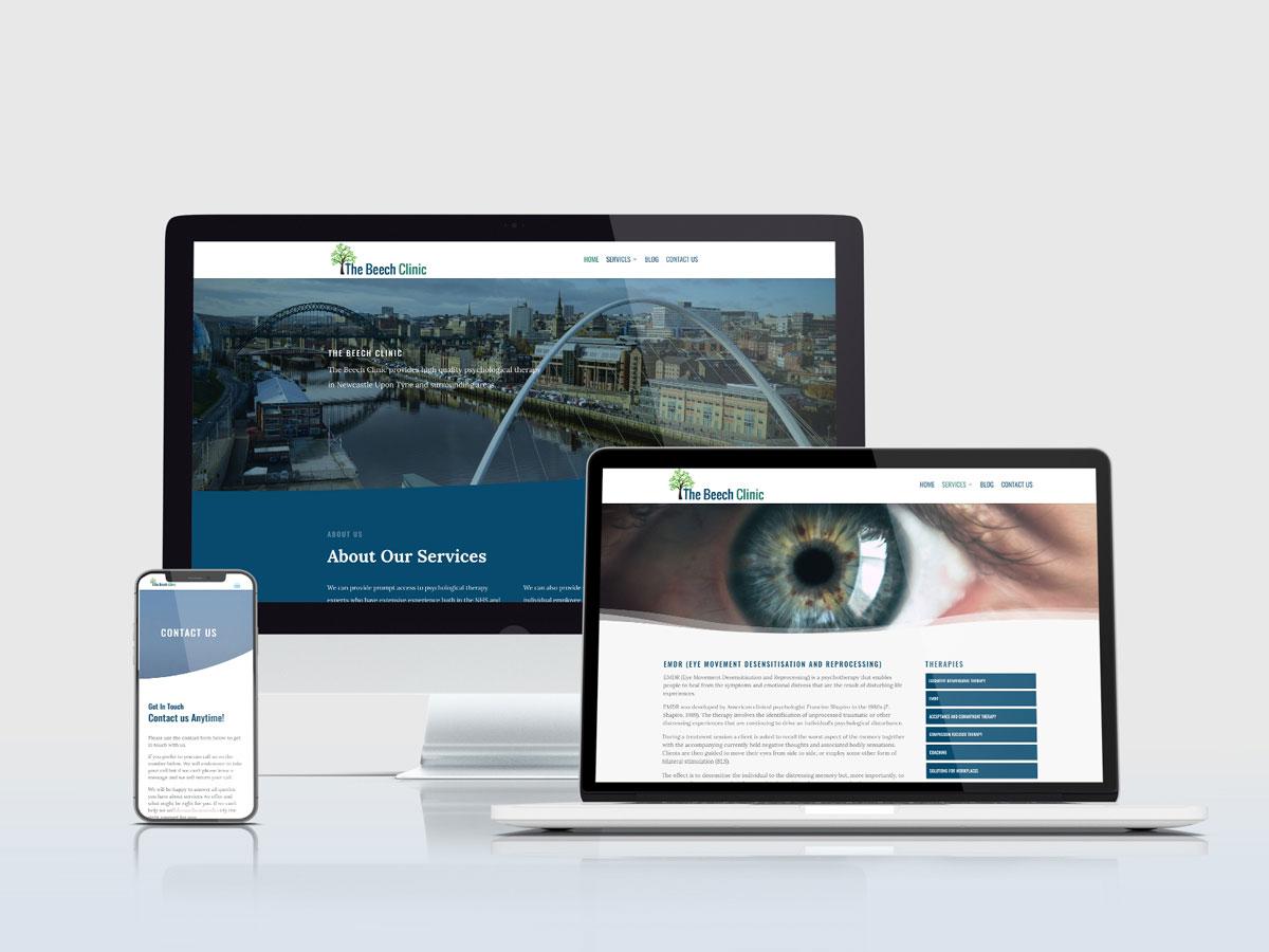 Wordpress Website Development - Beech Clinic