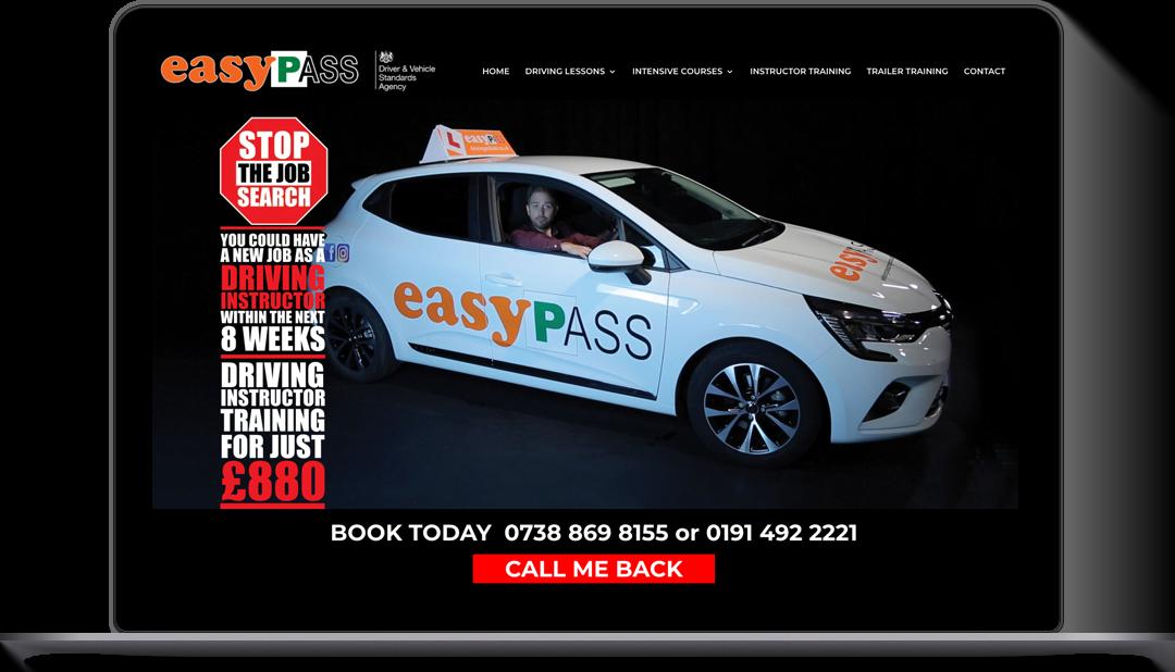 EasyPass WordPress Website