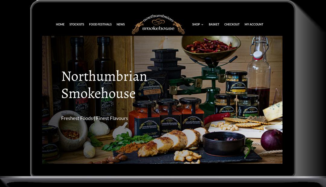 E-Commerce Website Northumbrian Smokehouse