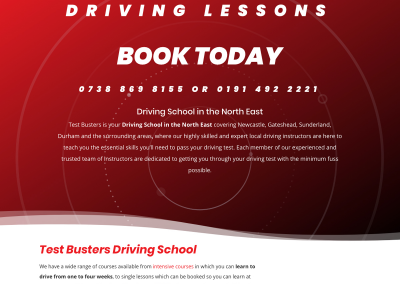 TEST BUSTERS DRIVING SCHOOL
