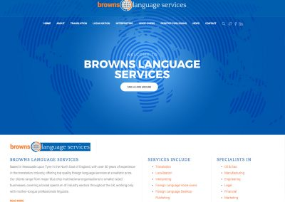 BROWNS LANGUAGE SERVICES