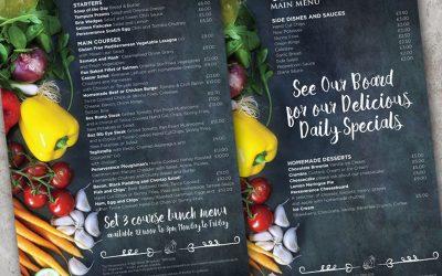 Restaurant and Takeaway Menu Design