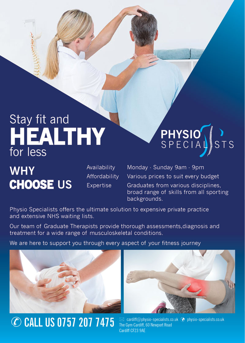 Flyer Design Physio Specialists
