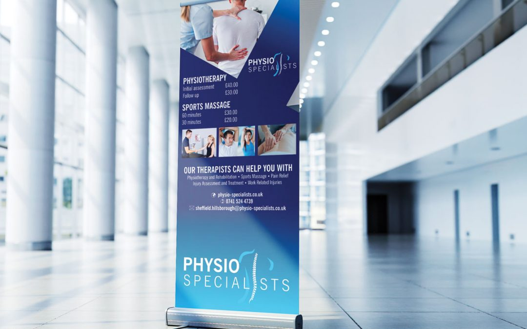 Physio Specialists pop up banner