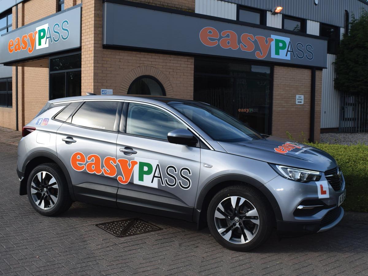 Logo Design for EasyPass Driving School