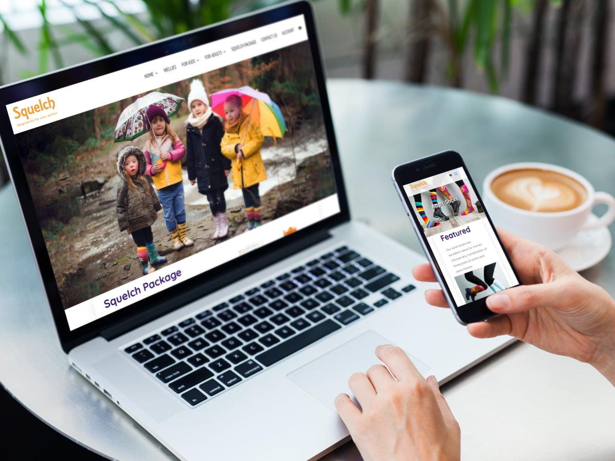 Ecommerce website design newcastle